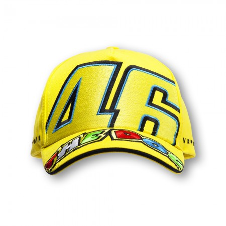 8abaf4ae108 2015 Valentino Rossi Yellow  THE DOCTOR  Cotton Cap - VR46