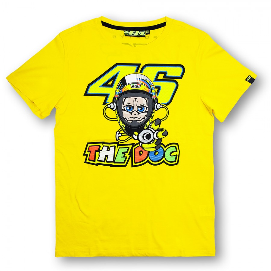 2015 Valentino Rossi Yellow The Doctor T Shirt Vr46